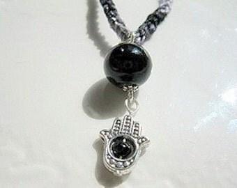 Hamsa ... Hand of God Necklace