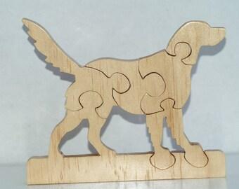 Golden Retriever Dog Puzzle