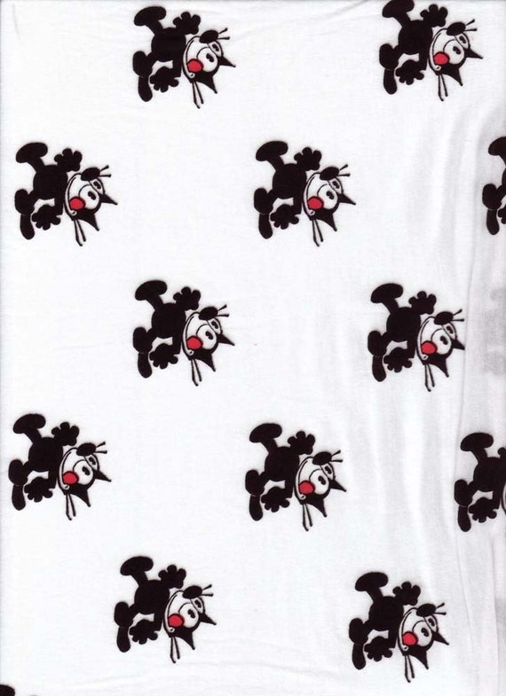 Felix the cat cotton knit fabric for Kyla
