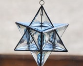 Glass star tetrahedron