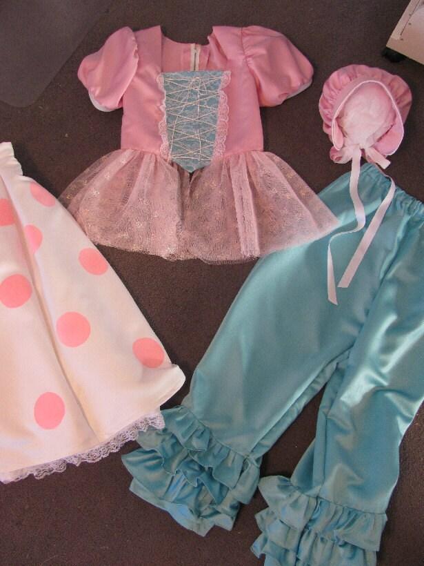 Adult Costume Toy Story Bo Peep Women Misses Ladies Upcycled