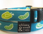 Dog Collar, Eco friendly and Sustainable, Candied Meats, Size Large