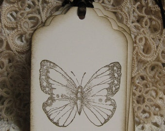 Wedding Tree Wish Tags -Butterfly- Guest Book Alternative