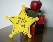 RESERVED- Star of the Day wearable pin