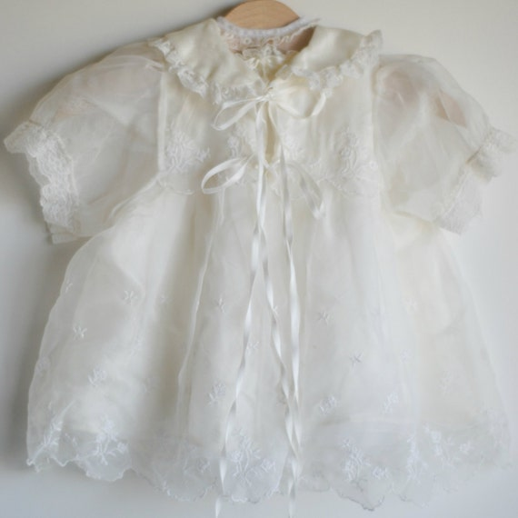 Vintage Baby Girl BLESSING Dress Two Piece 0 to by