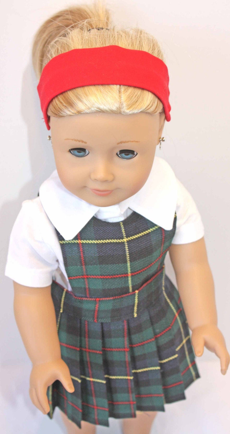American Girl Doll Clothes School Uniform-1412