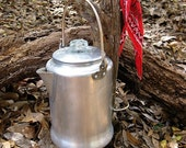 Vintage Aluminum Campfire Coffee Pot Perculator