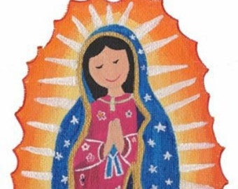 Our Lady of Guadalupe - Giclee PRINT from original painting by Mirlette Islas