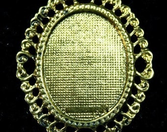 Cameo Setting Frame Antique Gold 30x40 FRM-3320AG - 2pcs