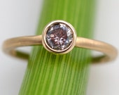 Reserve listing for Wendy - Pink Galaxy Diamond Solitare Ring