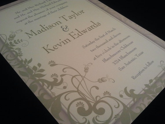 Spring Floral Invitations For Any Occasion