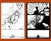 Errant Story Prologue Page Three - Original Art