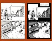 Errant Story Prologue Page Four - Original Art