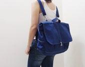 New Year SALE - 20% OFF Maxx in Royal Blue / Backpack / Satchel / Rucksack / Messenger / Men / Women / Laptop / For Him / For Her