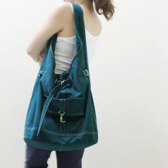 Back To School SALE - 20% OFF STARZ in Dark Teal  / Handbags / Hobo / Purses / Barrel Bag / Shoulder Bag / Women / For Her / Gift Ideas
