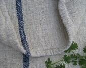 antique FADED INDIGO pillow grain sack feedbag tablerunner wedding decor