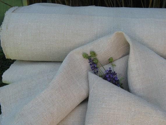 hemp linen ELEGANT FRENCH STYLE wedding decor tablecloth 15.30y by 25.19wide