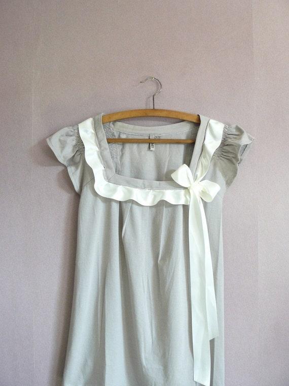 CLAUDINE embellished  blouse . S, M , or L
