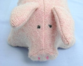 Pink Pig Wool Sweater Friend