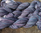 Lace Weight Alpaca yarn - Hand dyed  - Home grown from our Herd of Alpacas (Lot 1108-3)