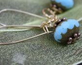 picasso turquoise earrings