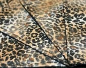 Quilted Cocktail Napkins - Leopard Print (set of 4)