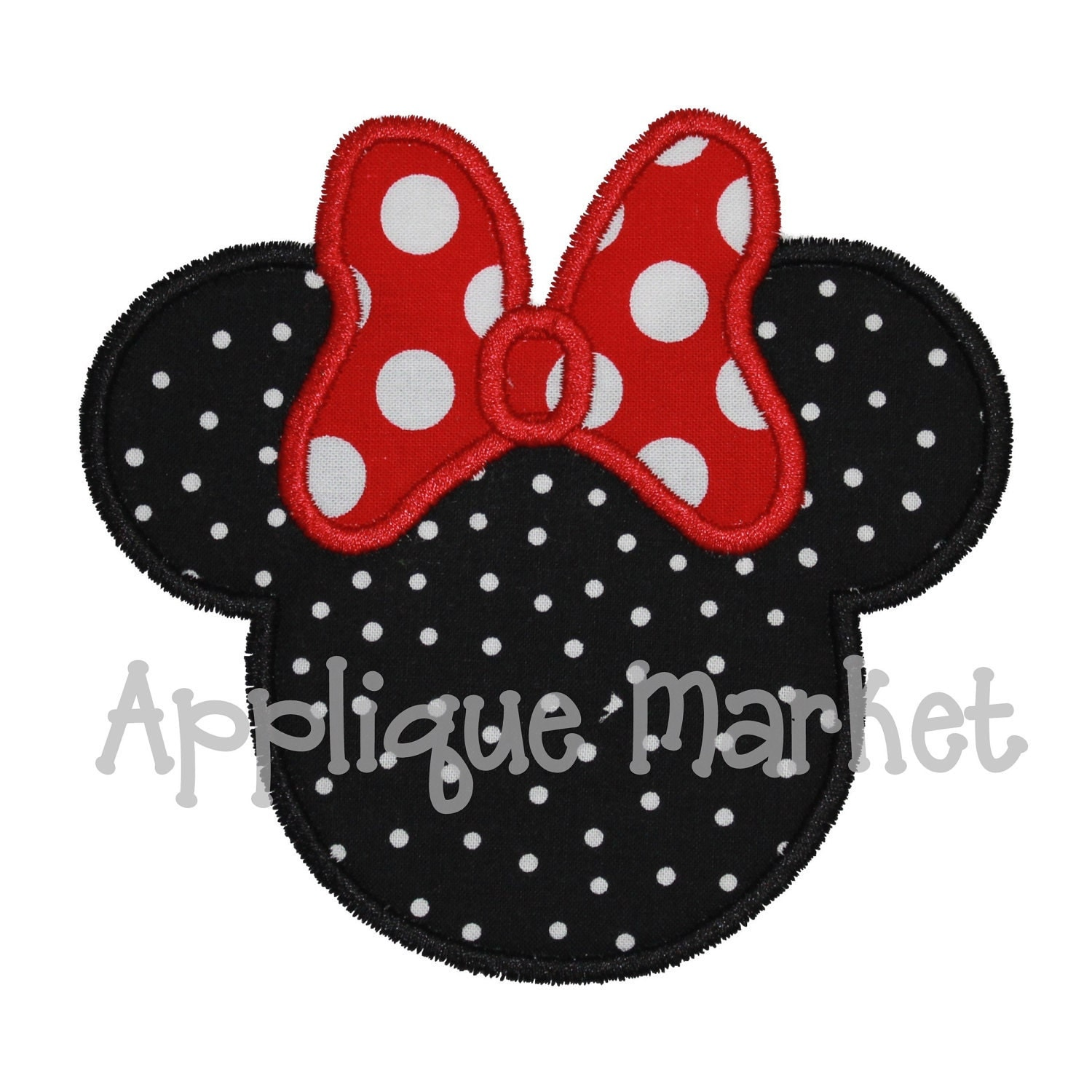 minnie mouse applique design joy studio design gallery best design. Black Bedroom Furniture Sets. Home Design Ideas