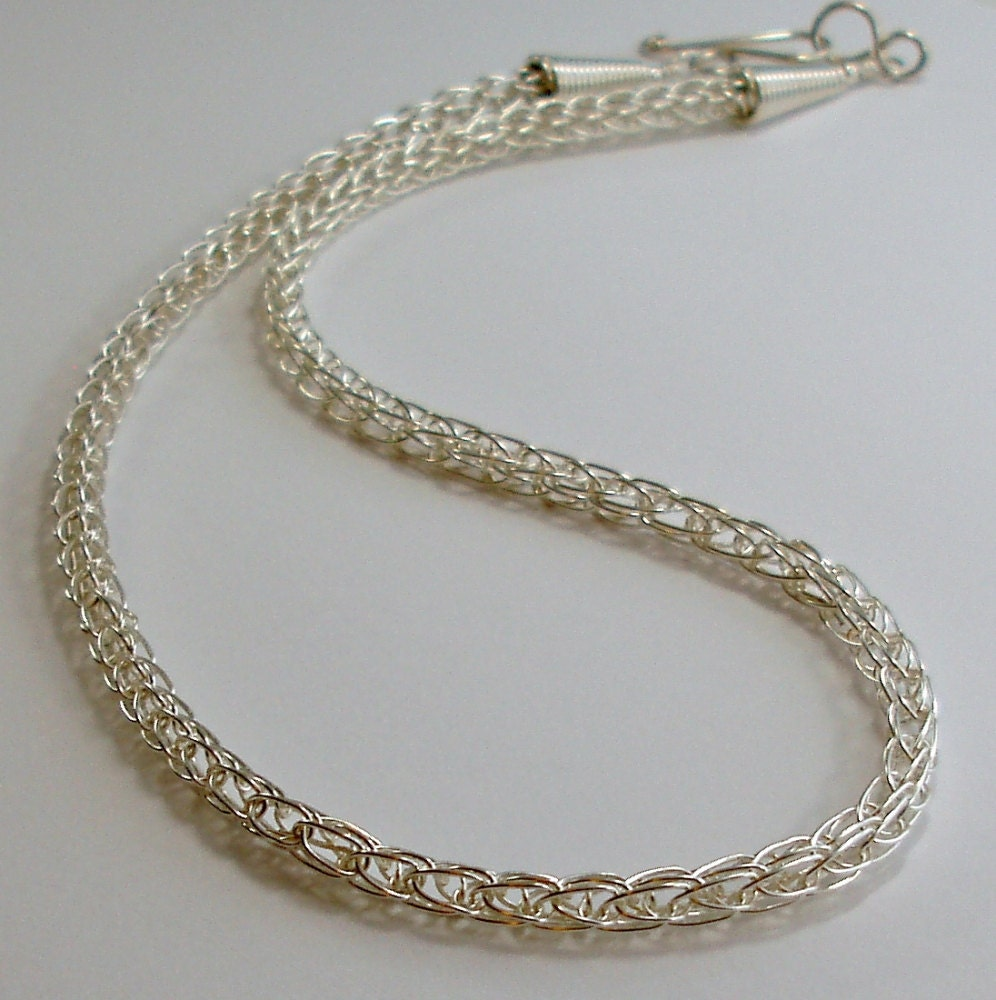 Viking Knitting Tutorial Pdf : Viking knit chain wire jewelry tutorial pdf file instant