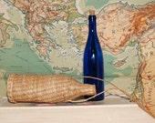 Vintage wine on the go picnic hiking woven wicker wine bottle cask satchel  barware