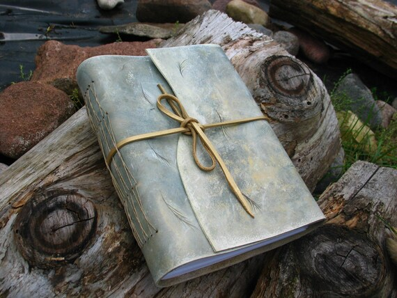 Large Handbound Leather Journal A5
