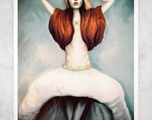 Queen Contemporary 13in X19in Art Print