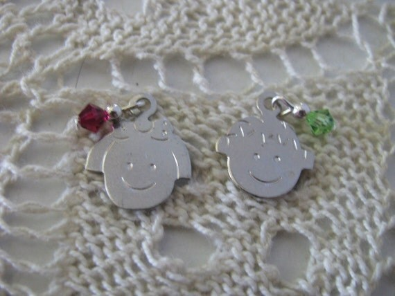July or August  Face Charm  A Mothers Love