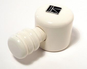 Mod White Melamine Vise Nutcracker by Knobler