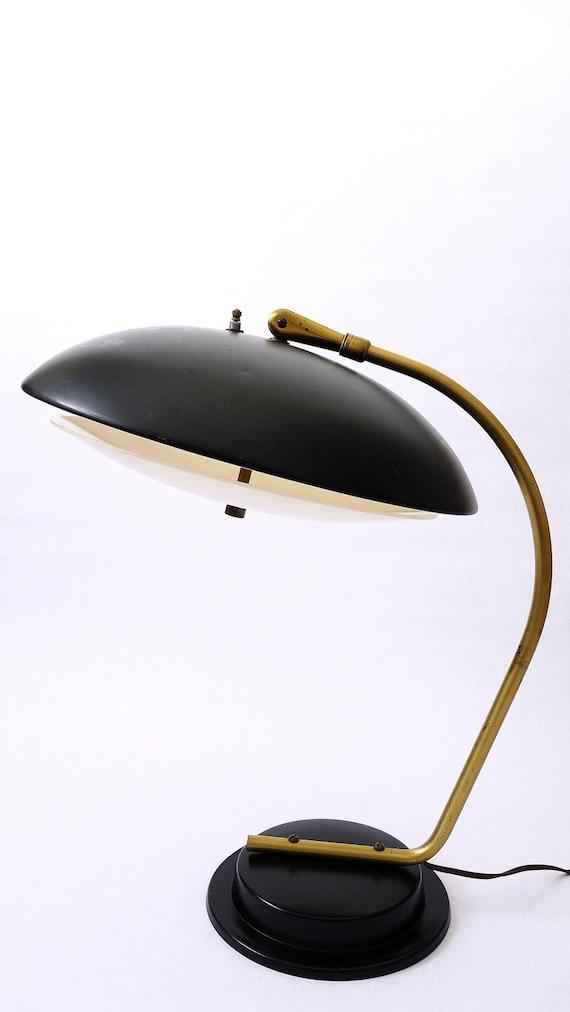 Mid Century Modern Lightolier Desk Lamp By Gerald Thurston