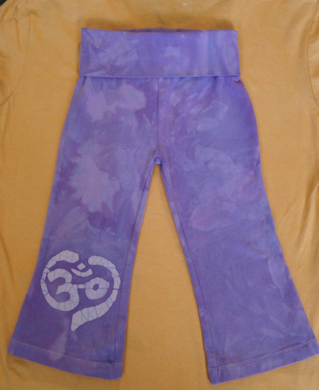 Yogi Yoga Baby Batik Pants Toddler Om Aum Heart Chakra Peace