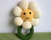 Crochet Daisy Rattle Pattern