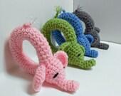 Crochet Elephant Rattle Pattern