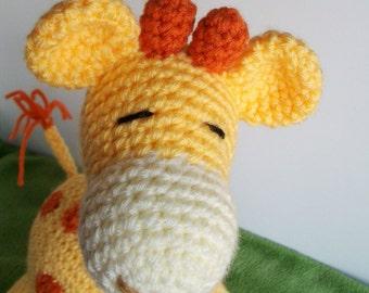 Gilbert the Giraffe Crochet Pattern