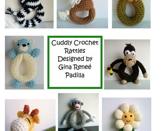 8 Cuddly Crochet Rattle Patterns
