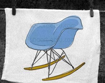Chair vintage 2  -Digital Image Sheet -Original Illustrate Drawing  A4 Print transfer on Pillows, t-shirts, scrapbook, lampshades  ETC.v