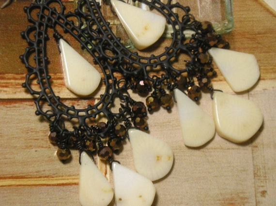 Cream Coral Chandeliers