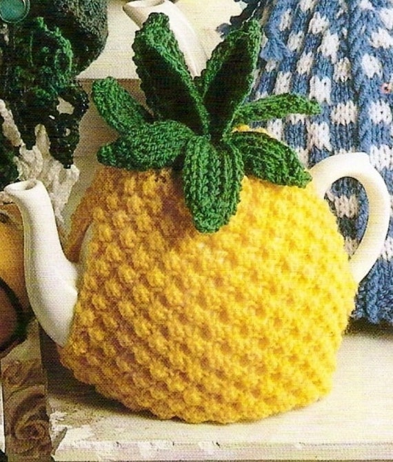 Pineapple Tea Cosy Vintage Knitting Pattern 354 by ...