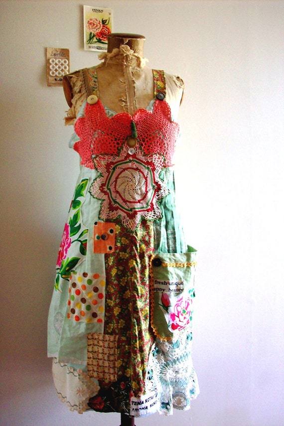 RESERVED sunset at the kasbah, slip dress, bohemian gypsy, soul, love, lucyvnz, lucyv, vintage soul, one of a kind