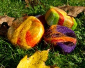 Sisters Soap Felted goat milk soap