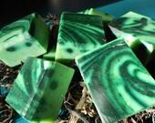 Bergamot and Seaweed goat milk soap bar