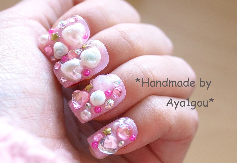 Perfect Fairy Kei Nails Picture Collection - Nail Polish Ideas ...