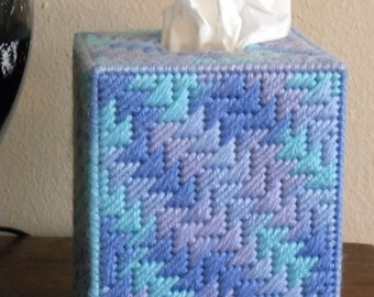 Boutique Tissue Box Cover - Ocean