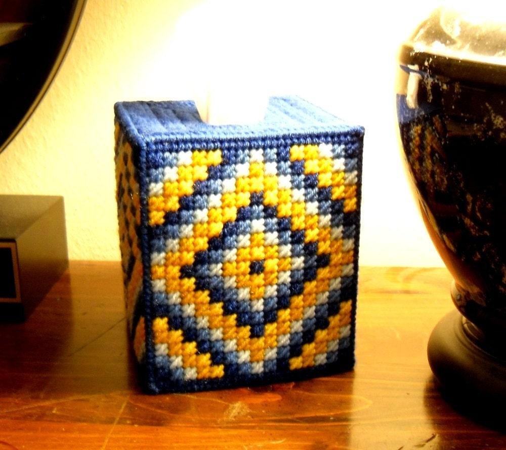 Boutique Tissue Box Cover Trip Around The World