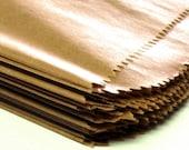 25 X-Large Flat KRAFT Merchandise Bags . 12x15