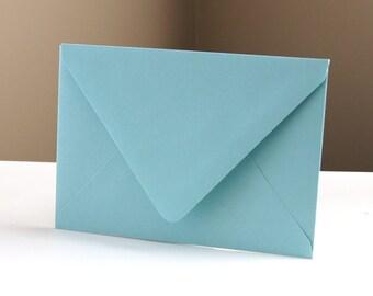 "10 Pool (Blue) RSVP Envelopes . 4Bar Envelopes . 3.625"" x 5.125"""